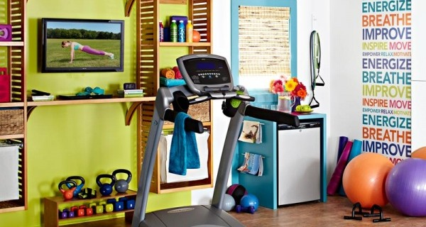 Give Your House & Health a Lift with a Home Gym