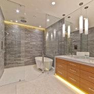 Bathrooms Awash in Light